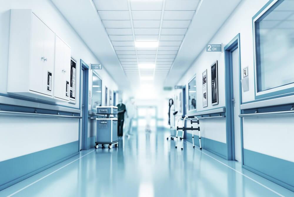 medical facility hallway