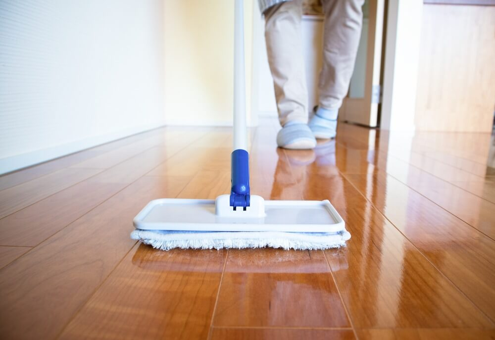 waxing floor